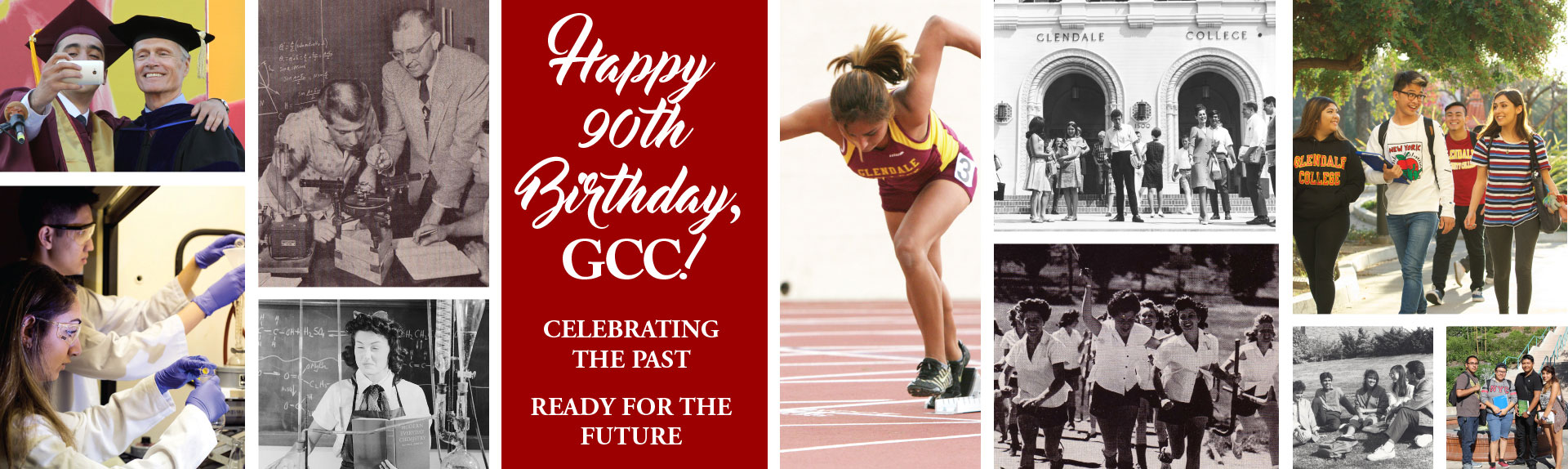 Happy 90th Birthday GCC, Celebrating the past, Ready for the future