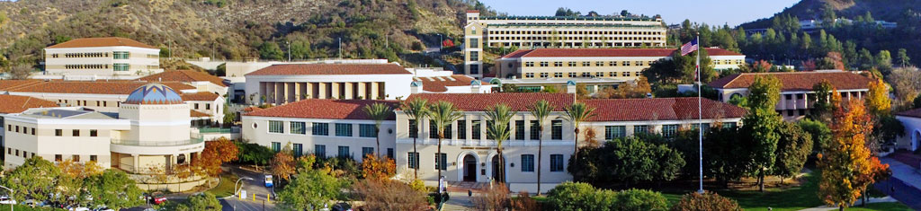Administration building view