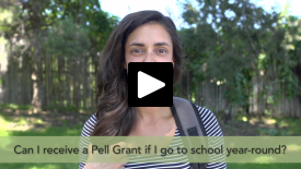 fatv, Can I receive a Pell Grant if I go to school year-round?