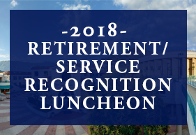 2018 Retirement/Service Recognition Luncheon