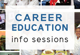 career ed info sessions