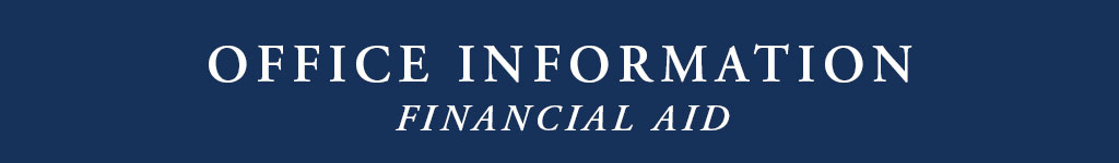 Financial Aid Office Information