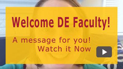 DE VLOG | BLOG | FAQ | TIPS | Glendale Community College