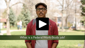 What is a Federal Work-Study job?