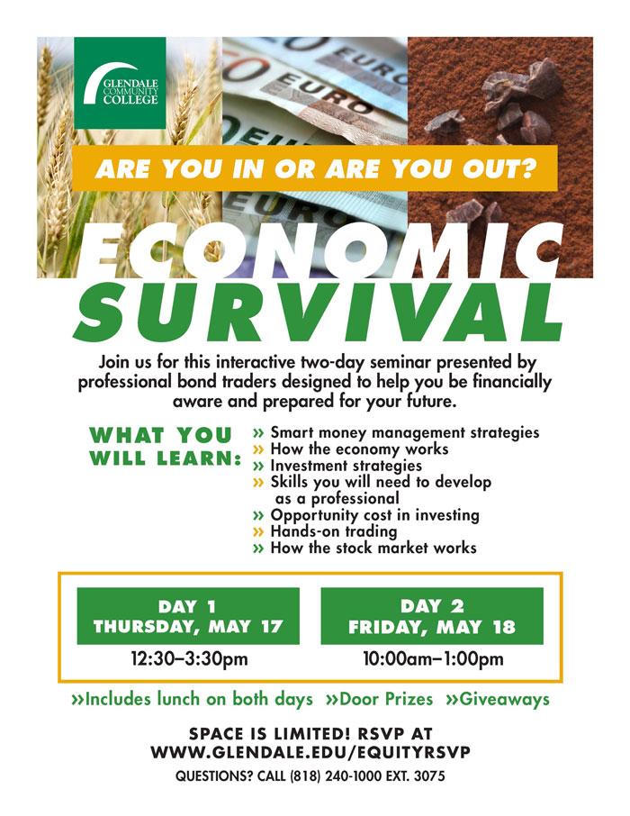 Economic Survival Seminar Day 2 | one page Calendar options