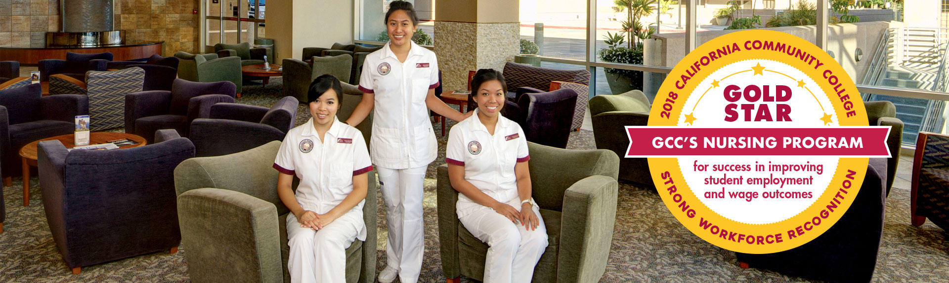Gold Star GCC's Nursing Program