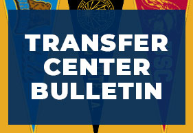 Transfer Center Bulletin Blue