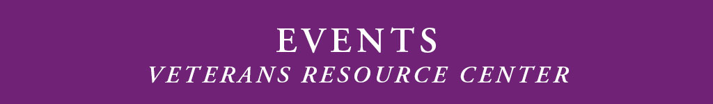 Veterans Resource Center Events