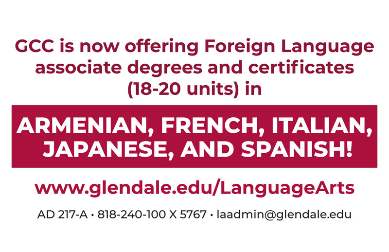 Language Arts associate degrees and certificates