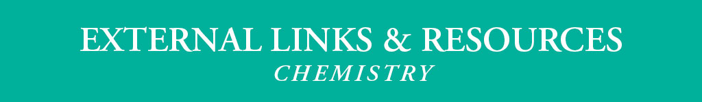 Chemistry External Links and Resources