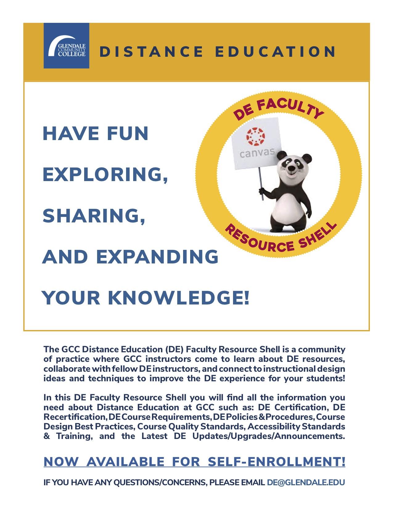 Distance Education Course Requirements | Glendale Community