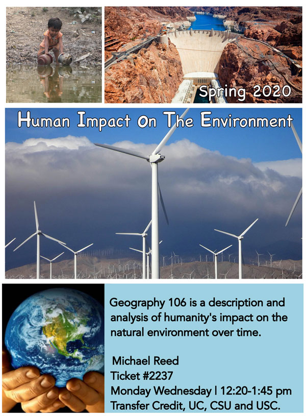 Environment Geography Spring 2020