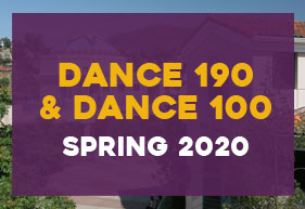 Beginning yoga and dance history, Spring 2020