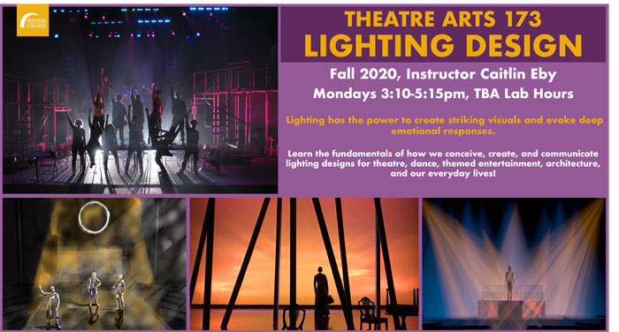 T ART 173  Lighting Design FALL 2020